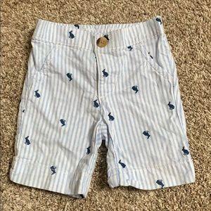 Old Navy seersucker bunny shorts